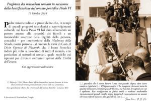 Preghiera dei Netturbini Romani